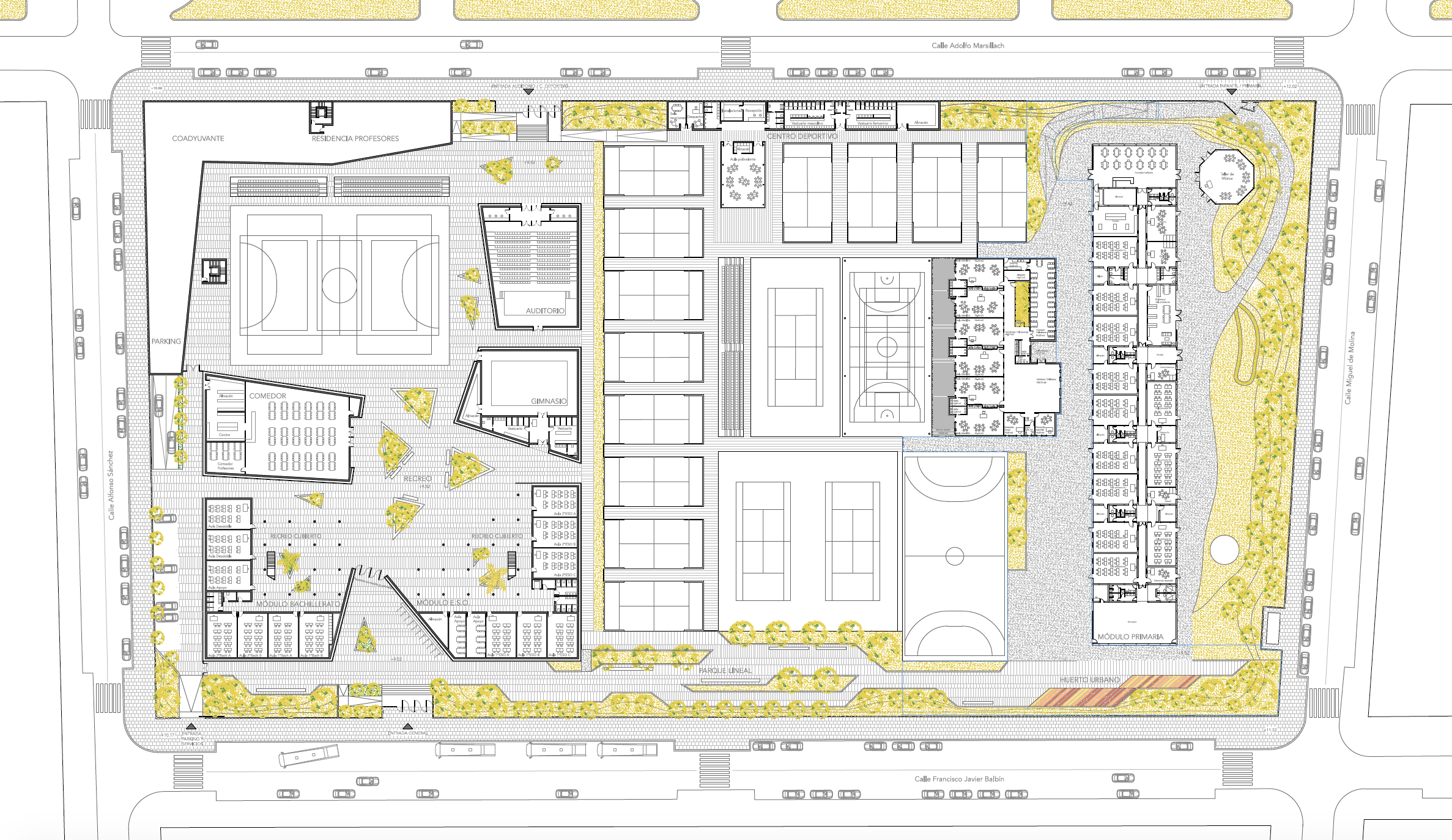 anteproyecto colegio med arquitectos