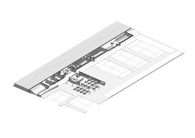 3D baja centro deportivo