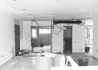 Salón - obra casa palmeras